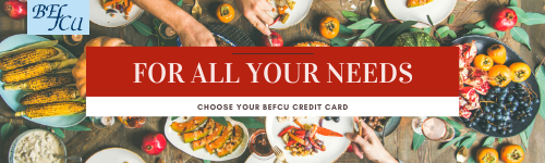for all your needs, choose befcu